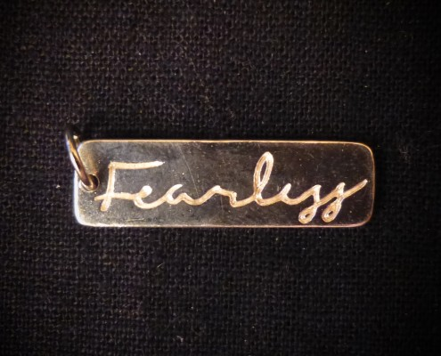 Fearless-pendant