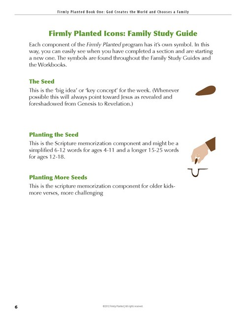 Real Life Press | Firmly Planted, Student Workbook (The